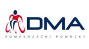 Logo DMA - kompenzační pomůcky