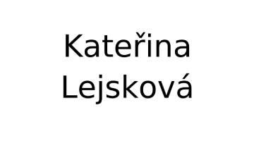 Logo Kateřina Lejsková